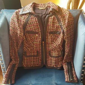 BEBE Twill Blazer Jacket